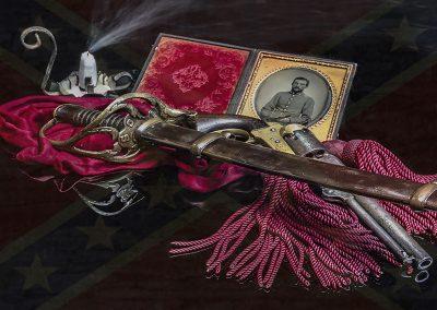 Photo by John Flandrick antique sword-
