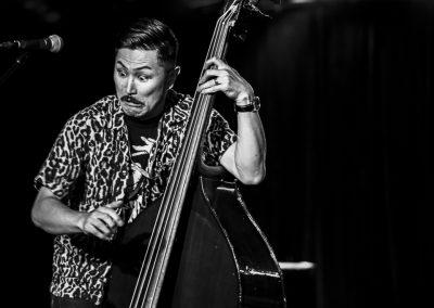 Photo by John Flandrick Inazuma - Japanese Samurai Rock N' Roll playing live on stage at Discovery ventura-09553