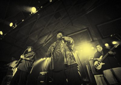 Photo by John Flandrick The Question playing live at Discovery Ventura-